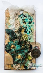 Inspirtation - Mixed Media Tag