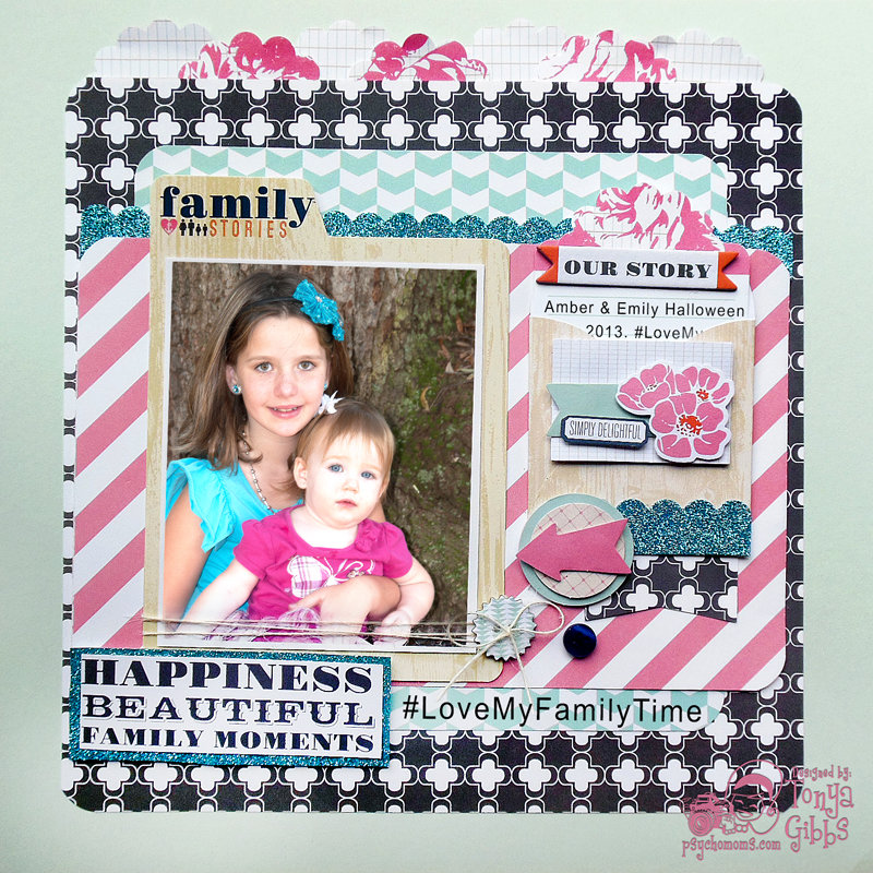 Family Stories Layout