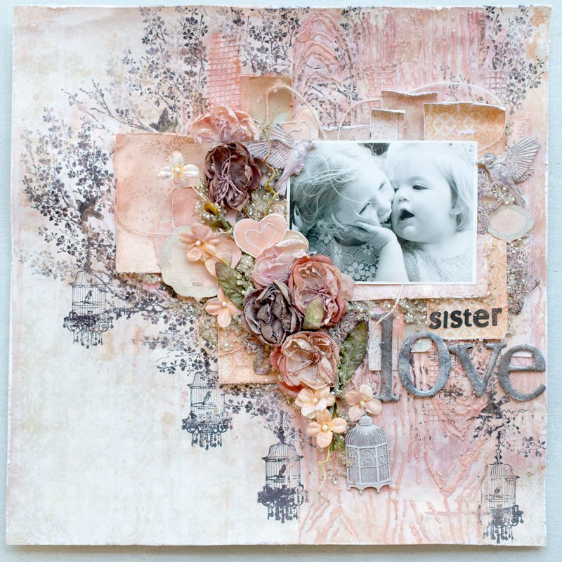 Sister's Love Layout