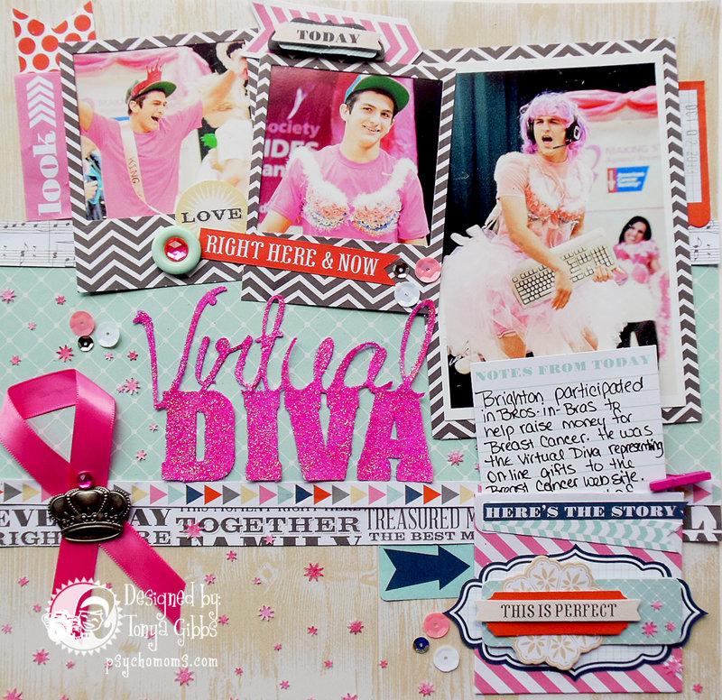 Virtual Diva Layout - Bros In Bras