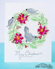 Holiday Wreath Card