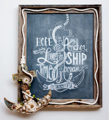 Hope Is The Anchor Chalkboard