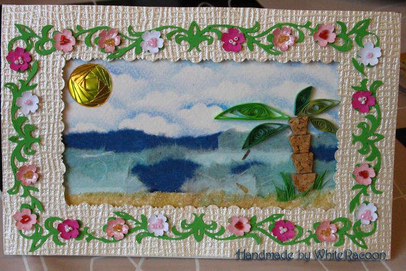 Tropical sea card