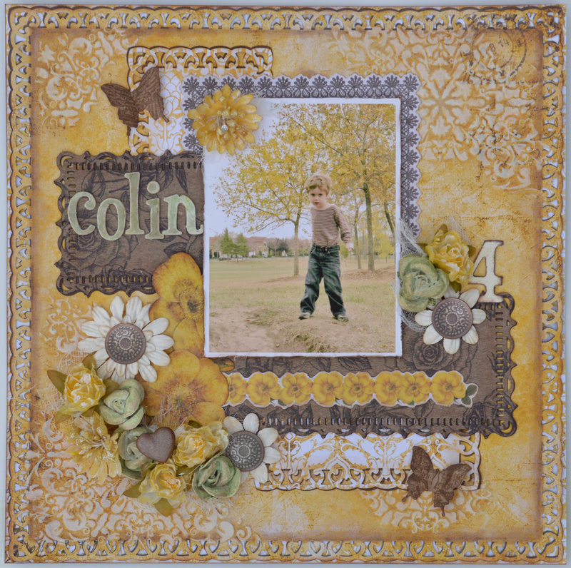 Golden - My Creative Scrapbook November Limited Edition Kit