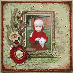 Little Red Toddler Hood