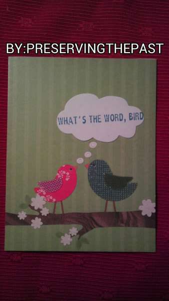 What's the Word, Bird