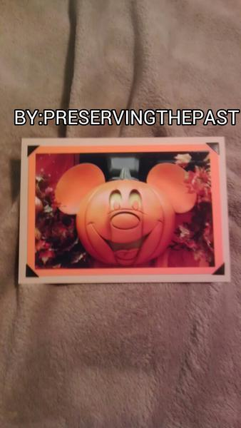 Photo Card -- Halloween Mickey