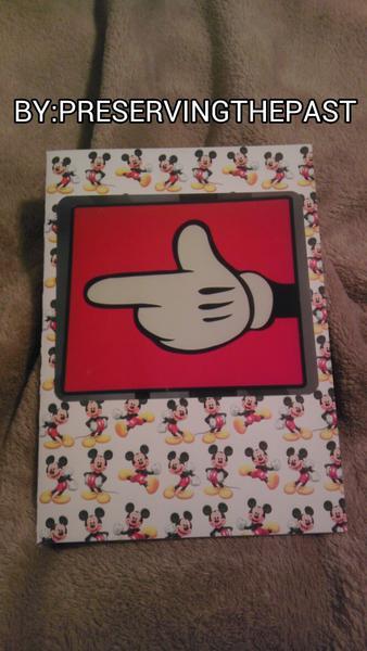 Photo Card -- Mickey's Hand