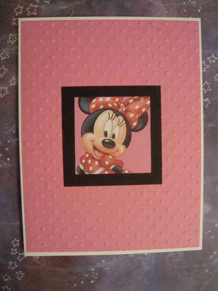 Minnie Mouse Notecard