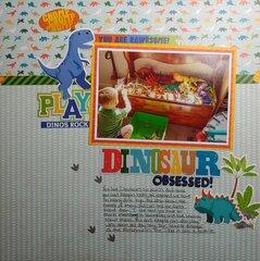 Dinosaur Obsessed