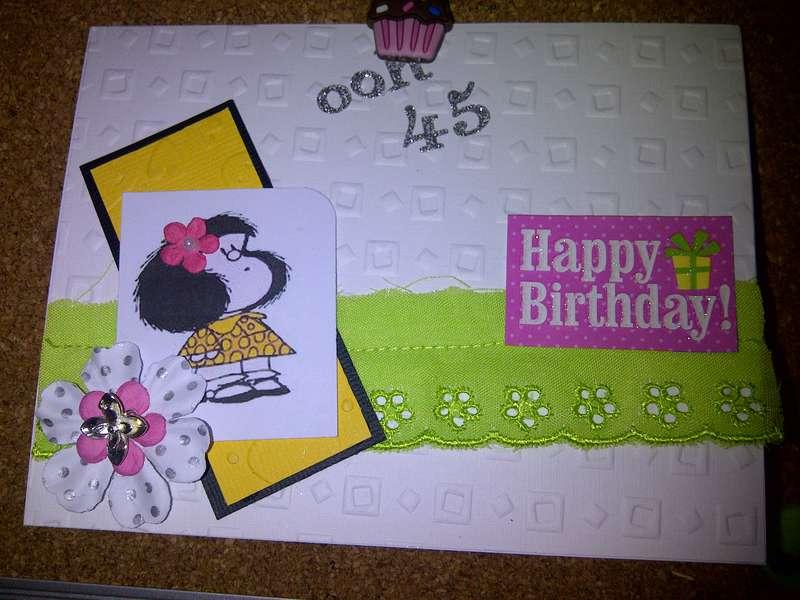 My sweet HB card!