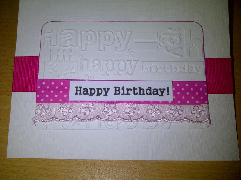 H-birthday card