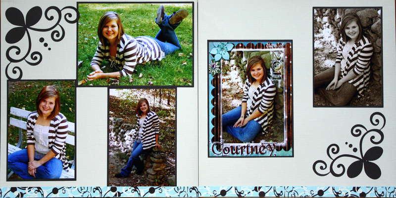 D's Senior Photos in the Park
