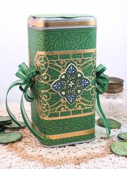 Lucky to be Irish Treat Canister by Teresa Horner