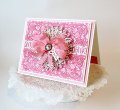 XOXO for you card by Teresa Horner