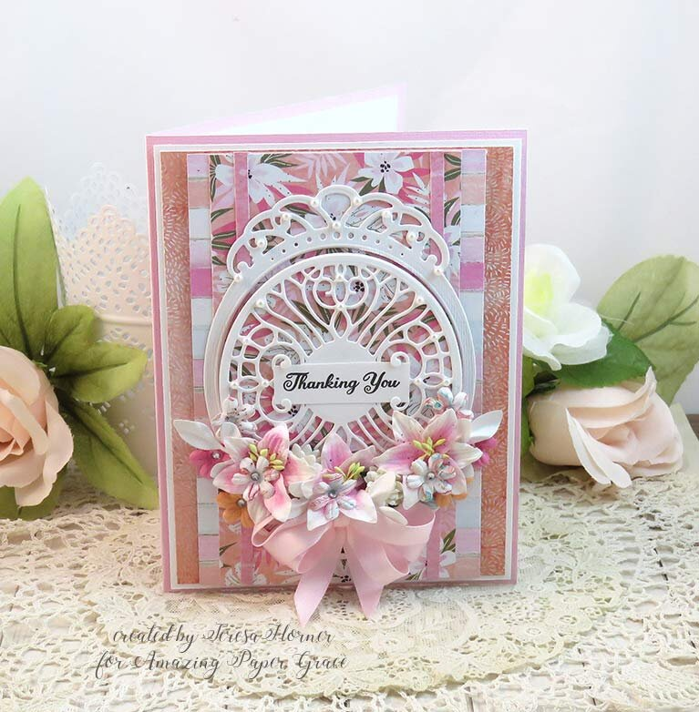 Thanking You Card by Teresa Horner