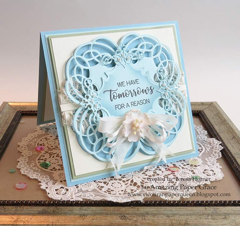 We have tomorrows for a reason card by Teresa Horner