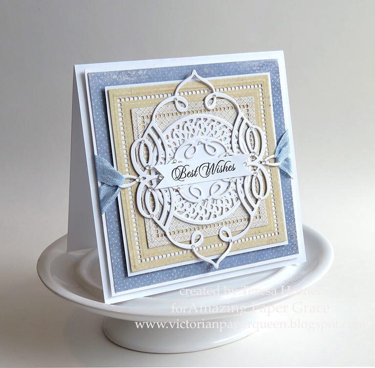 Best Wishes Card by Teresa Horner