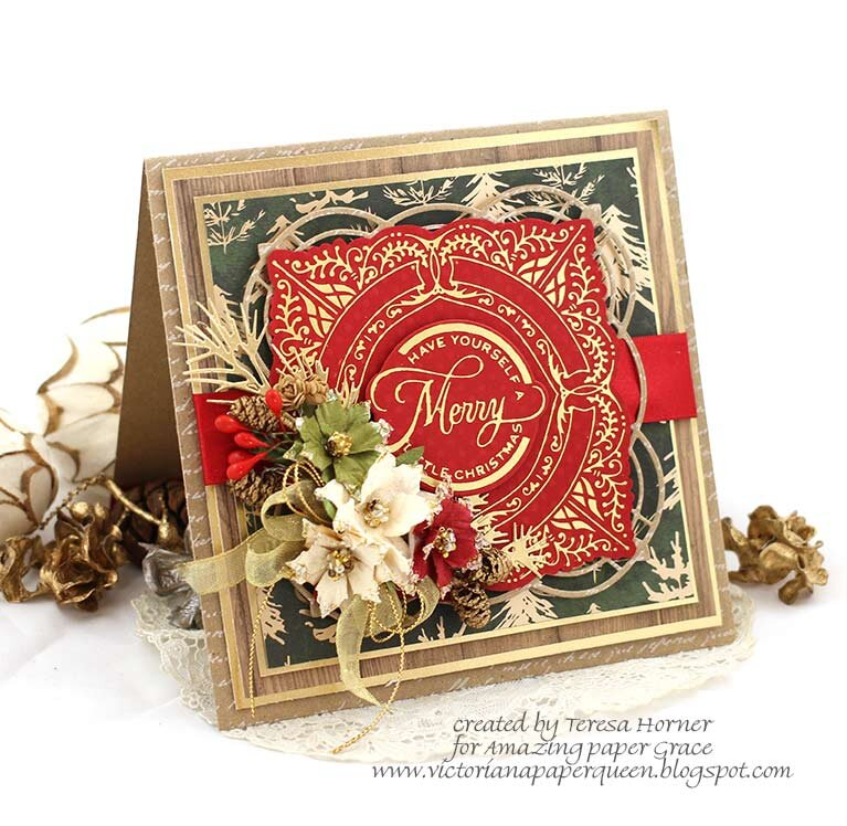 Have yourself a Merry little Christmas card by Teresa Horner