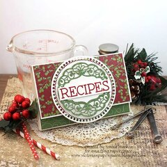 Recipes Card Folder by Teresa Horner