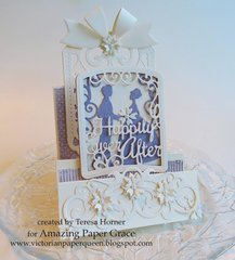 Happily Ever After 3D Z card by Teresa Horner