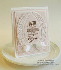 Faith is card by Teresa Horner