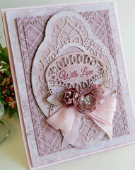 With Love card by Teresa Horner