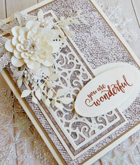You are Wonderful card by Teresa Horner