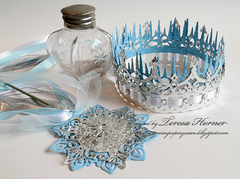 Princess Crown and Septor inspired by Disneys' Frozen