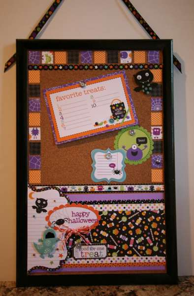 Halloween Memo Board