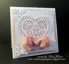 Hugs and Kisses Valentine Card