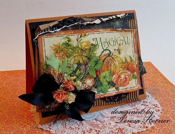 Magical Halloween Card