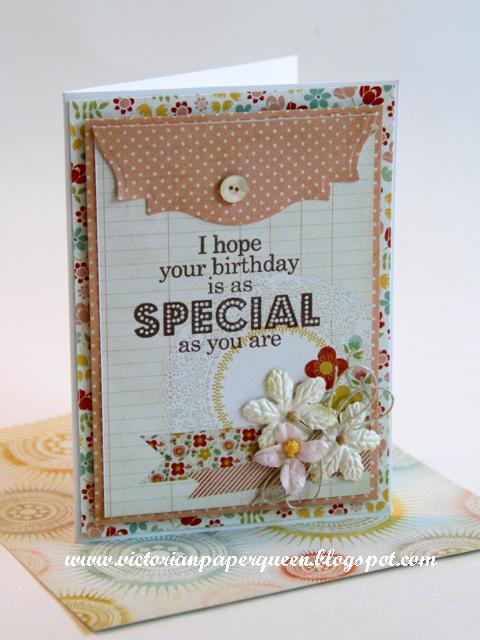 Special Birthday Card