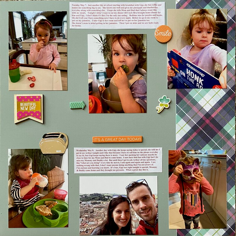 Page 3 of a Week with Gigi