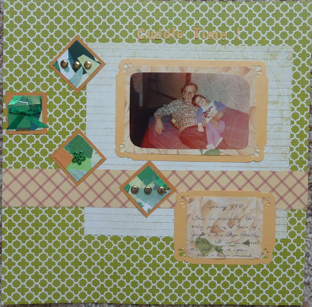 the scraproomblog Sept  sketch and Frosted Designs journal box challenge