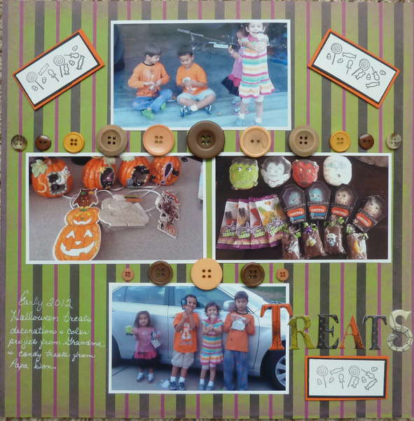 Creative Scrappers #228 & scrapitgirl 12 button challenge