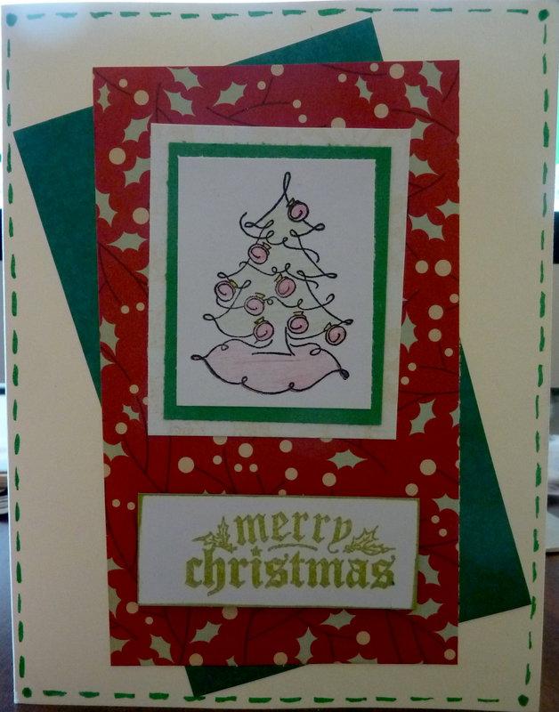 52 Christmas Card Throwdown sketch