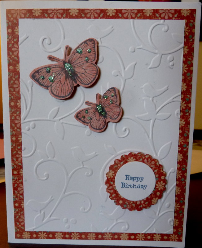 Frosted Designs embossing challenge