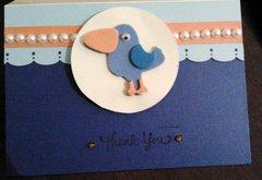 Blue Bird Thank You