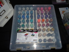 ArtBin glitter glue storage