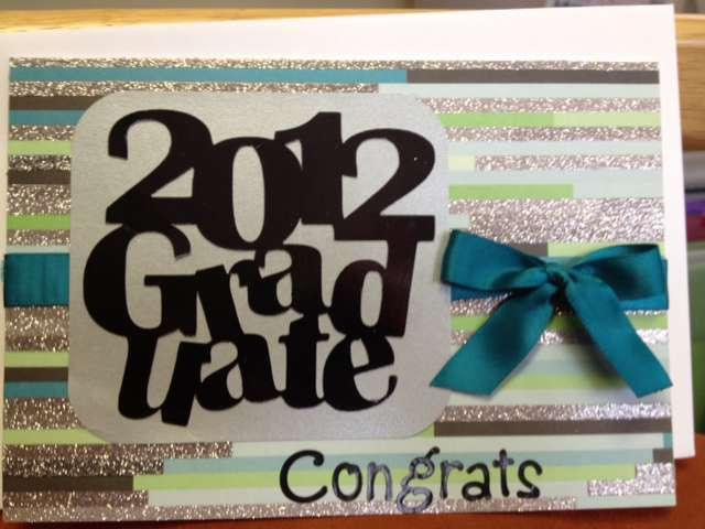 2012 Male Graduate Card