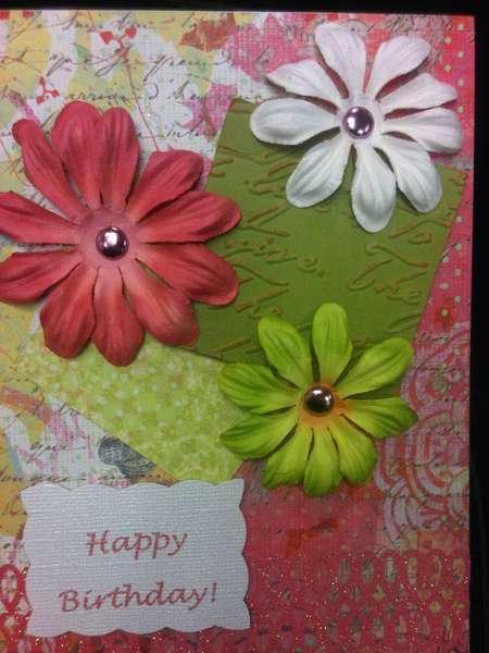 Woman's Birthday Card