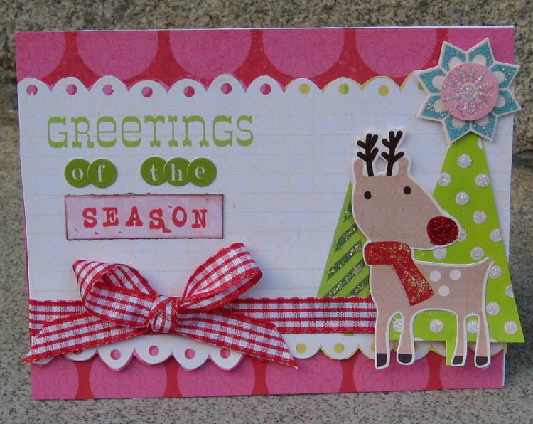 Greetings of the season card