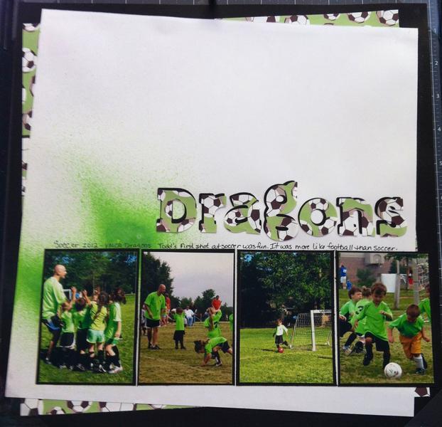 Soccer 2012. Sketch challenge #3