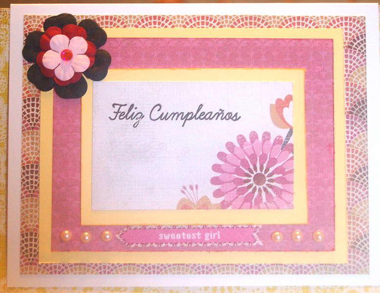 Feliz Cumpleanos Flowers