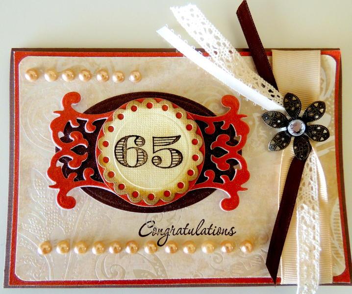 65th Anniversary Card