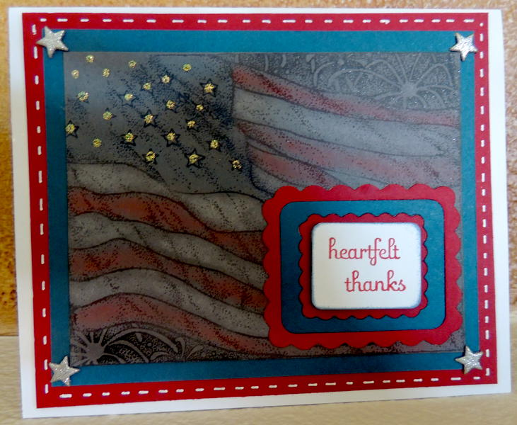 Veteran's Day Thank You Card