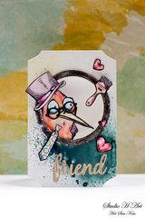 Bird Crazy Mini Card
