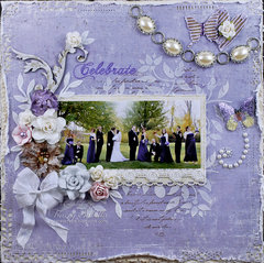 """Celebrate"" DT for ScrapThat! August Days to Remember Kit"