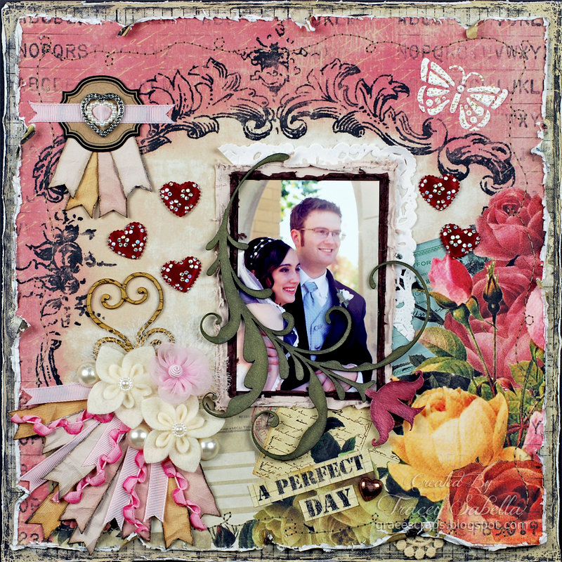 """""""A Perfect Day"""" ***ScrapThat! February """"With Love"""" Kit Reveal DT***"""